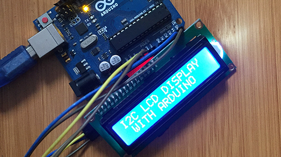 Arduino Micro-controller for Display Values on LCD